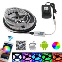 L12 LED Strip 5050 RGB Set 5 Meter RGB LED Strip Mini Wifi RGB LED Controller