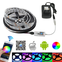 L12 LED Strip 5050 RGB Set 5 Meter RGB LED Strip Mini Wifi RGB LED Controller