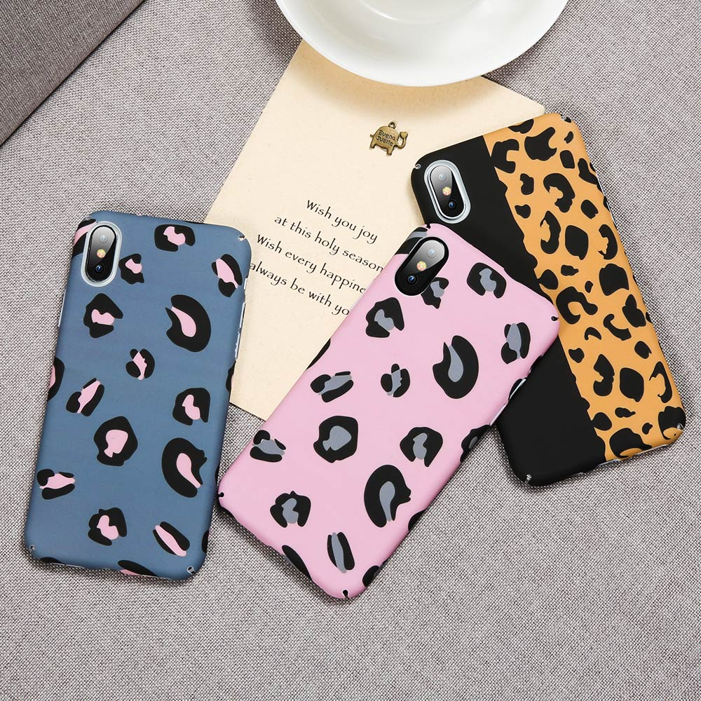 Image 2 - KISSCASE Matte Luminous Leopard Case For Samsung A50 A30 A70 S10 5G Shockproof Back Cover For Samsung J7 2017 Case A9 2018 Capa-in Fitted Cases from Cellphones & Telecommunications