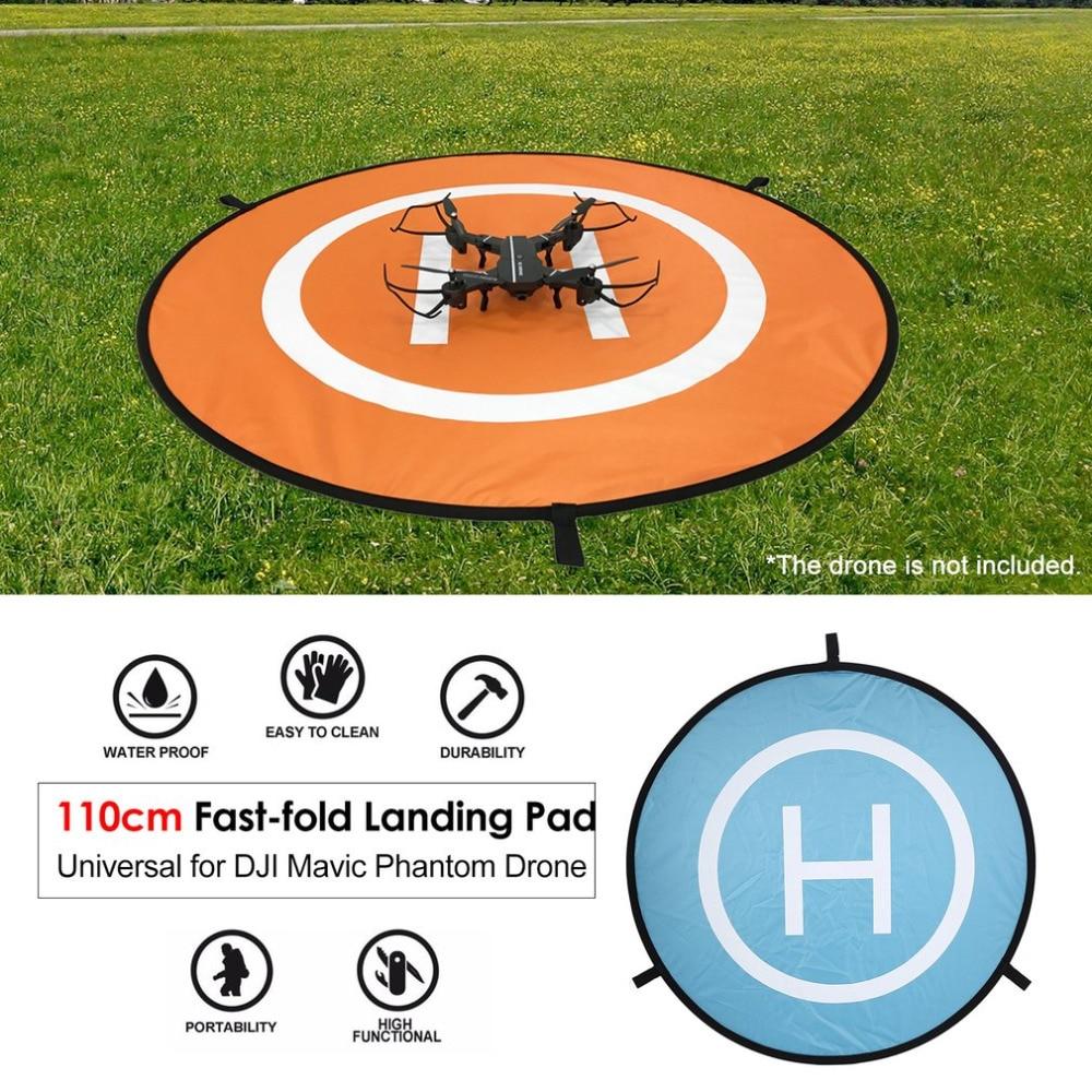 Aterrizaje Racing Drone accesorios 110 cm para DJI chispa Mavic Pro rápido plegable Universal FPV Drone Parking delantal plegable Pad