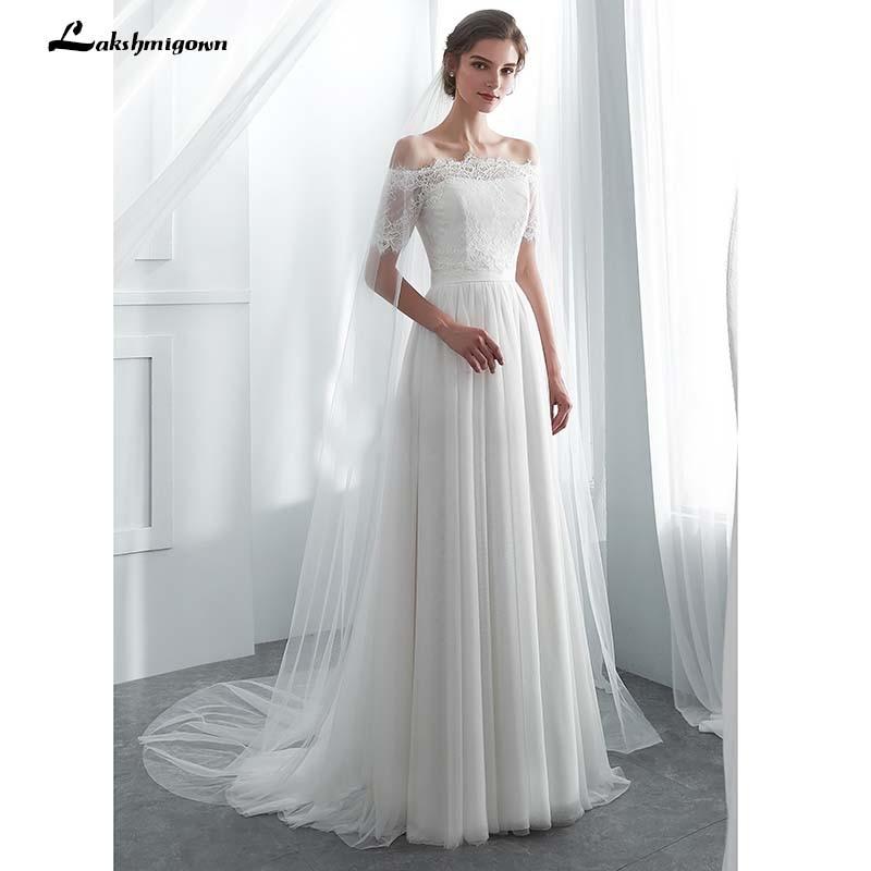 White Wedding Dress Jacket: Two Style Beach Wedding Dresses With Jacket White Bridal