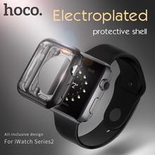 HOCO Elegante funda protectora Suave para Apple Reloj iWatch serie 2 colorida cubierta de la cáscara 38mm 42mm complemento perfecto 4 color parachoques