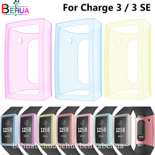 Screen Protector For Fitbit Charge 3 Silicone Comprehensive protection SE Transparent ultra-thin protective cover