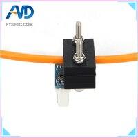 1 Juego de Monitor Duet3D de 1 75mm de diámetro  Sensor de detección de filamento pegado  impresora 3D  versión láser  Monitor de filamentos para dúo 2 Wifi