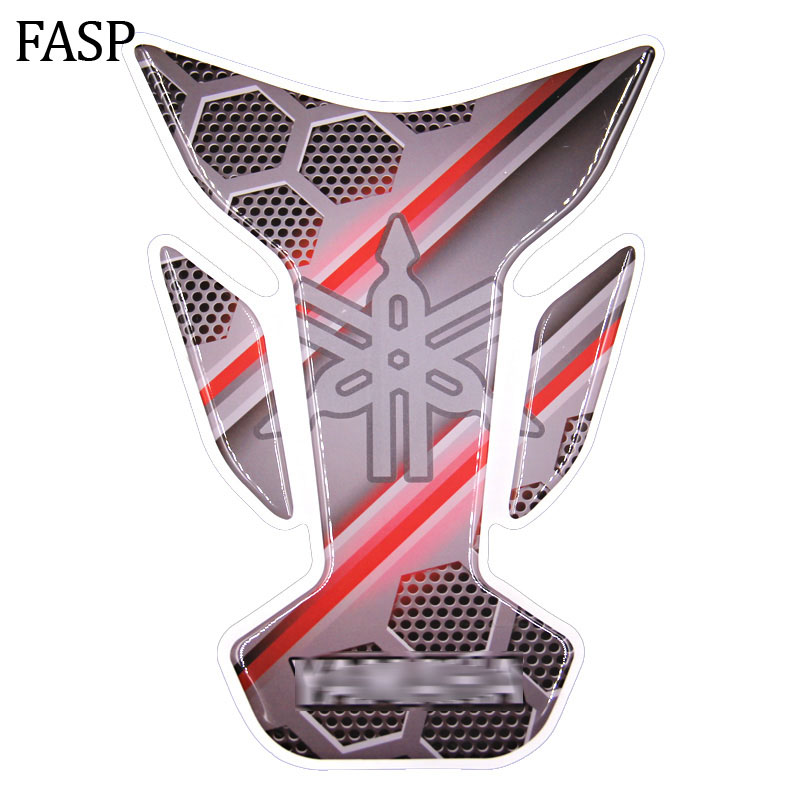 New FASP Motorbike racing car Fuel Tank Pad Protector Cover Decal yes #204 19*13.5cm Fit YS250 YBR125 JYM125-3G R1-R16