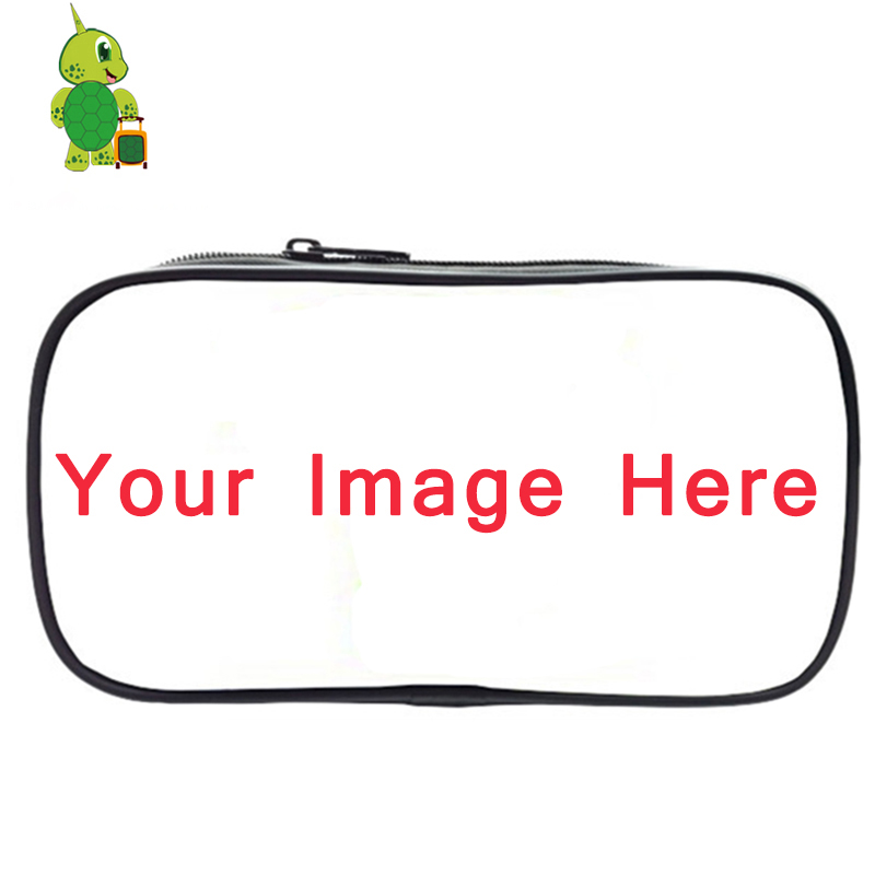 Customized Pencil Bags Unique Cosmetic Cases Kids School Supplies Stationery Storage Bag Boys Girls Personalized Makeup Bag