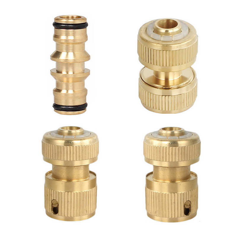 Tap Irrigation-System Garden-Hose-Connector Brass Aluminum 1pcs