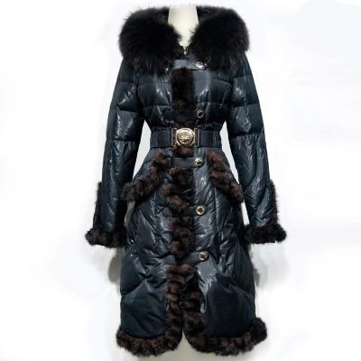 535c81b15 US $192.5 65% OFF|on Sale Royalcat 2017 Winter jacket women down jackets  Raccoon fur Women's down coat mink fur down outerwear parkas long parka-in  ...