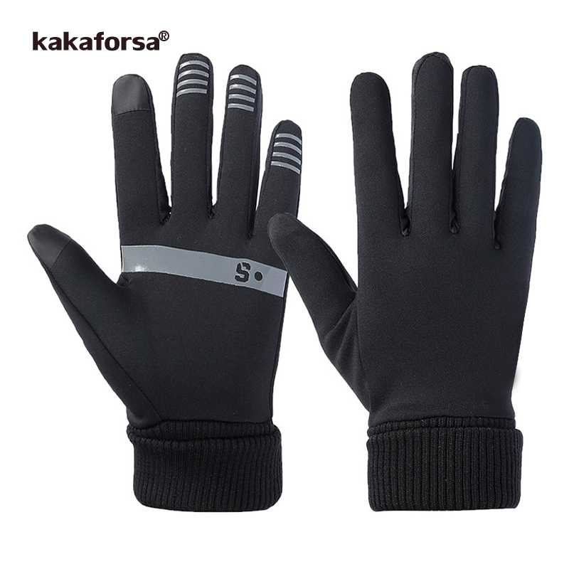 Kakaforsa Fashion Touch screen Sports Running Gloves