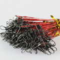 20Pcs/lot 15CM, 23CM, 30CM Fishing Line Steel Wire Leader With Swivel Fishing Accessory 5 Colors Olta Leadcore Leash FL84