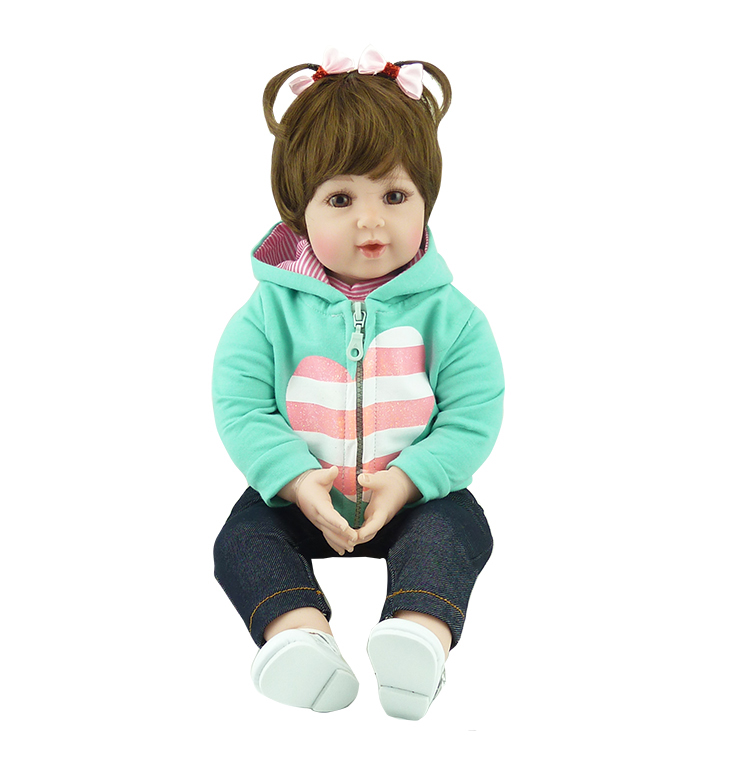 50cm Soft Body Silicone Reborn Baby Doll Toy Vinyl Newborn Babies Toddler can sit and lie vivid  Dolls Lifelike Kids Child Gift50cm Soft Body Silicone Reborn Baby Doll Toy Vinyl Newborn Babies Toddler can sit and lie vivid  Dolls Lifelike Kids Child Gift