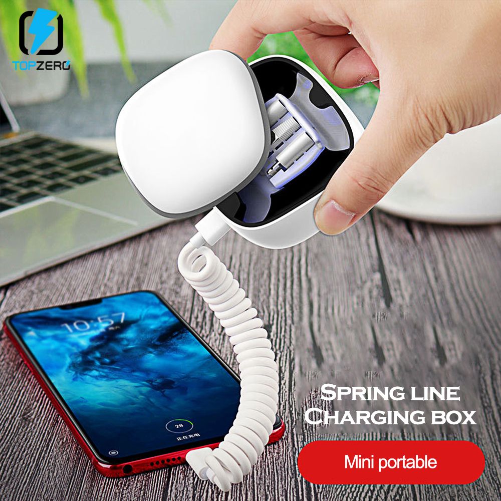 Portable Charger <font><b>Power</b></font> <font><b>Bank</b></font> For iPhone/Type C/Mirco USB External Battery Fast Charging Mini Powerbank For Samsung <font><b>Xiaomi</b></font> Huawei image