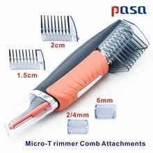 Микро точный триммер для бровей, ушей, носа, Машинка для удаления, бритва, унисекс, персональный Электрический Уход за лицом, тример для волос, светодиодный светильник