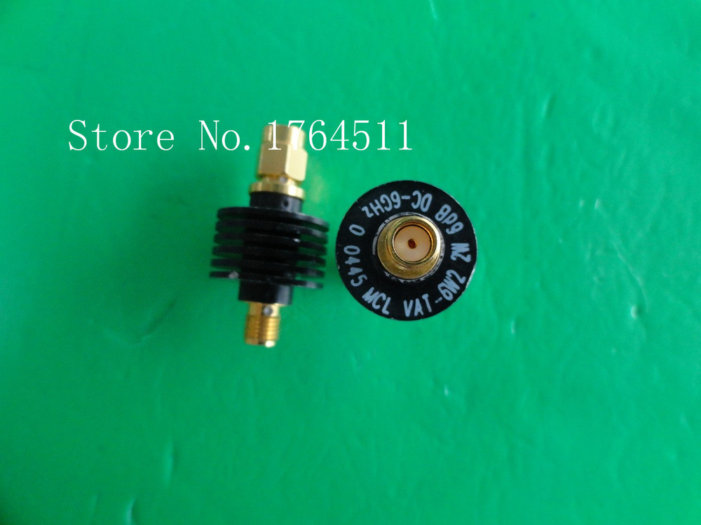 [BELLA] MINI VAT-6W2+ DC-6GHz 6dB 2W SMA Coaxial Fixed Attenuator  --3PCS/LOT
