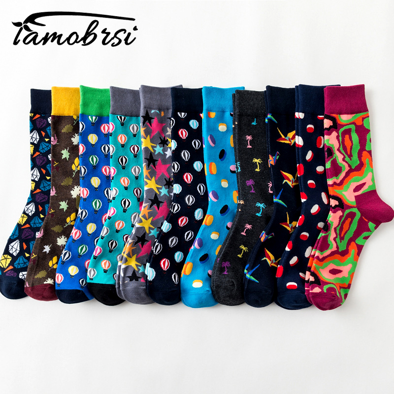 Cool Street Style Harajuku Crazy Cartoon Funny Women Casual   Socks   Men Short Hip Hop   Socks   Men Novelty Happy Cotton Colorful Socs