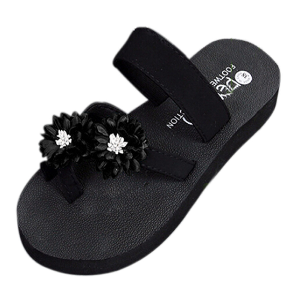 New women flip flops Beach sandals fashion sweet slippers summer women flats shoes woman mujer Zapatos fashion sandals women flower flip flops summer shoes soft leather shoes woman breathable women sandals flats sandalias mujer x3
