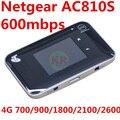 4g desbloqueado netger 4GX AC810S 600 mbps con 3 Banda CA wifi 4g Tarjeta De Aire 810 S 4G lte wifi router Inalámbrico mifi pk 810 782 s ac790s