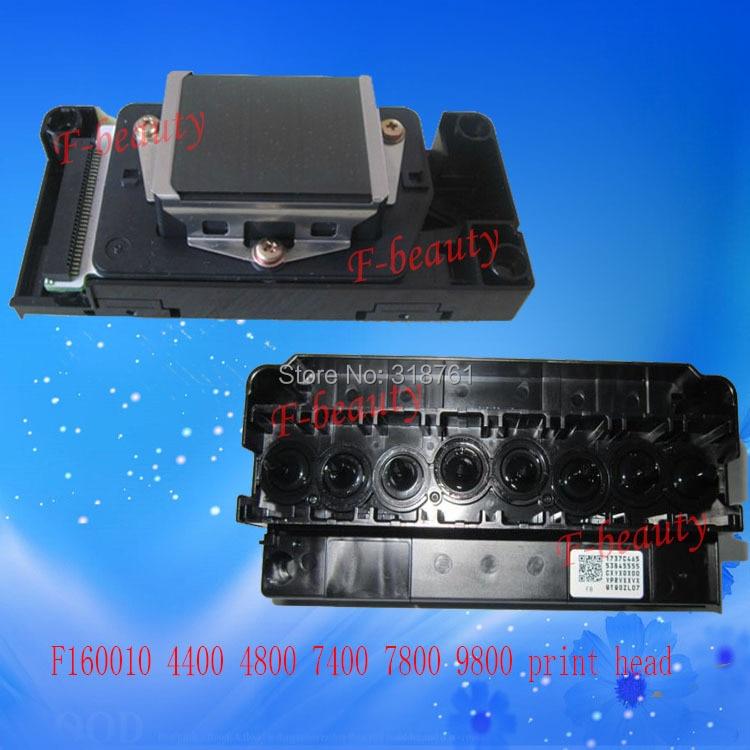 все цены на New Original Print Head F160010 Printhead compatible For Epson 4400 4800 7800 7400  9800 9400 DX5 Water Printer Head онлайн
