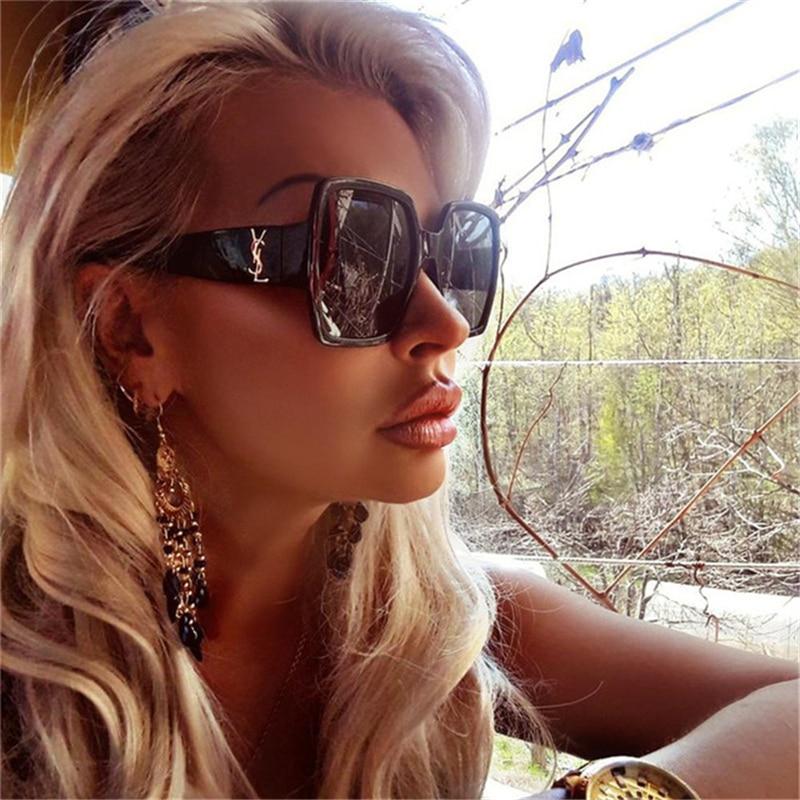DJXFZLO 2019 New version Sunglasses Women Luxury Brand Original Designer Fashion Sun Glasses Female Gafas Oculos De Sol UV400