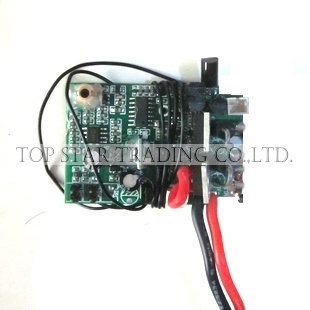 YD 611 612-36 Receiving Board PCB 27mhz For RC Helicpter Attop Yd611 Yd612 Spare Parts Accessories