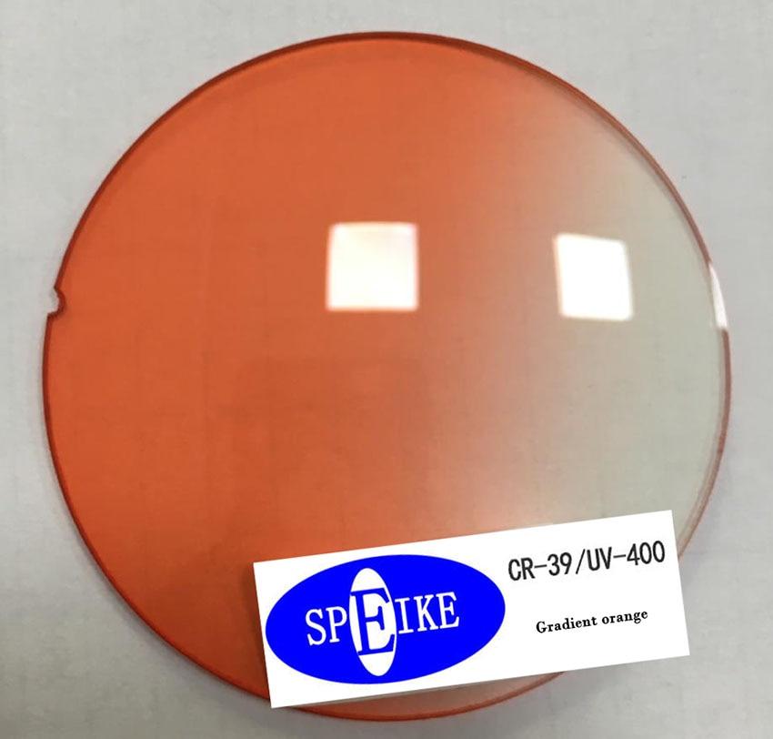 SPEIKE dégradé gris/thé/bleu/rose/violet myopie & lentilles de lecture indice 1.67 lentilles asphériques anti-reflets/scratch UV400