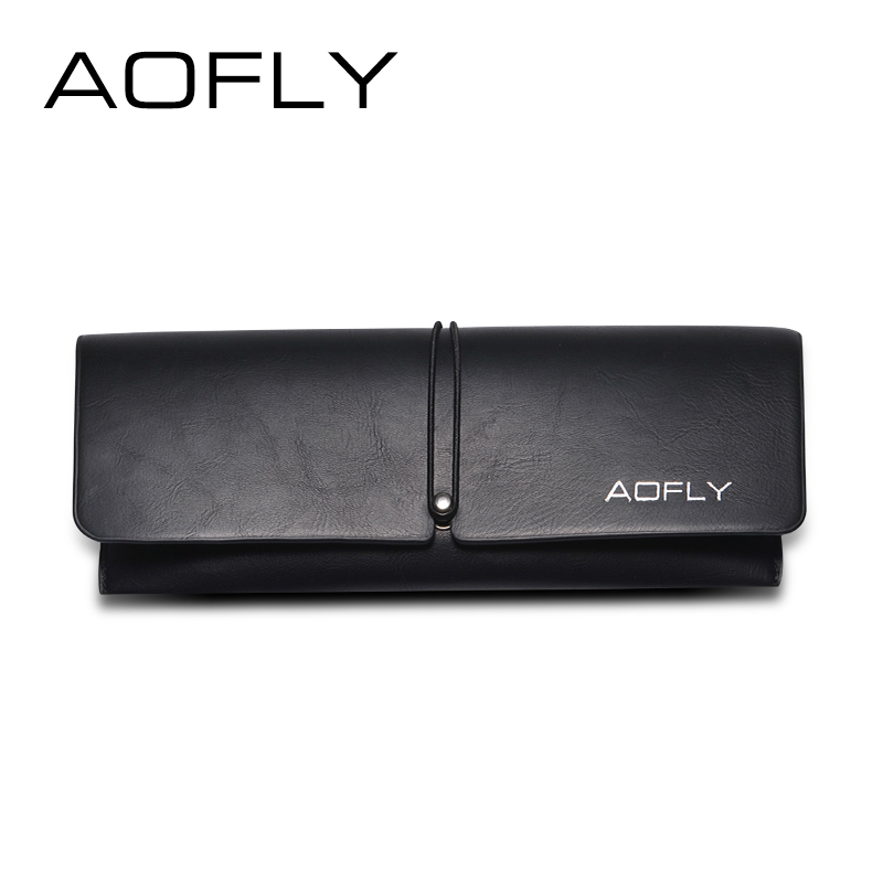 AOFLY gafas caso caja de diseño de marca de alta calidad con paño limpio de dibujos animados caja AOFLY tarjeta