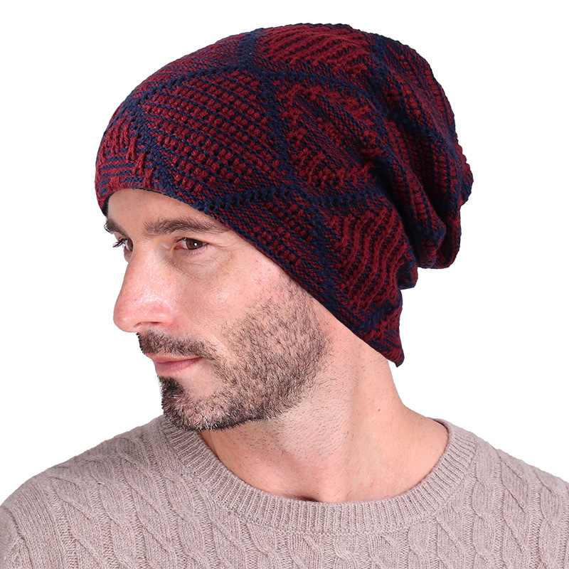 Skullies Beanies for Men Christmas New Year Gift Winter Brand Warm Crochet Knit Hat Women Men Winter Product