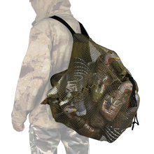 Hunting Duck Decoys Bag Mesh Backpack Decoy Bag Outdoor Goose Turkey Carry Large Decoy Storage Net Bag With Shoulder Straps outdoor hunting duck decoy bag mesh backpack with shoulder straps drake goose storage net bag polyester mesh army green 100 x 75