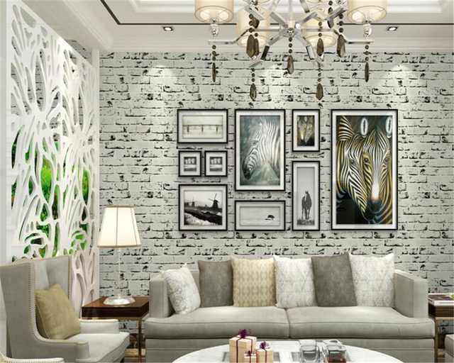 Muriva Brick 3d Effect Wallpaper In White J30309 3d Wallpaper White Brick