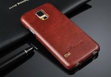 Genuine Leather Case for Samsung Galaxy S5 Вертикальный Флип Fundas с Подарком Screen Protector Высокое Качество Крышка Коке для Galaxy S5