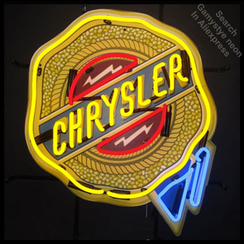 Detail Feedback Questions about NEON SIGN for Chrysle Badge GLASS ... a02640d728b7c
