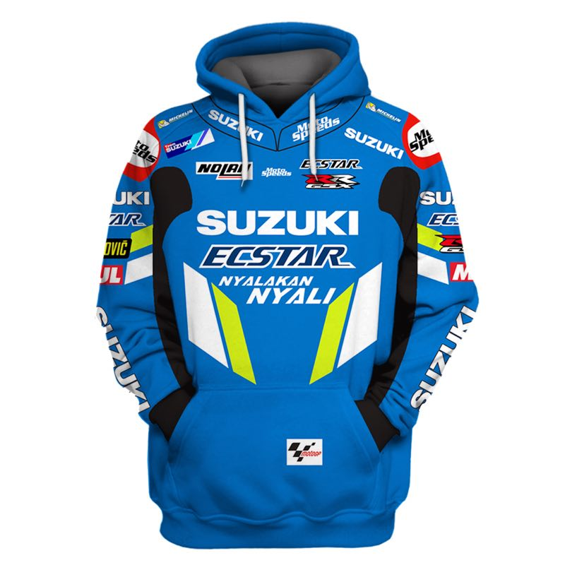 Hoodie Racing Clothing-Jackets Coat Sweatshirts Jersey Camiseta Moto Cross-Zip Riding title=