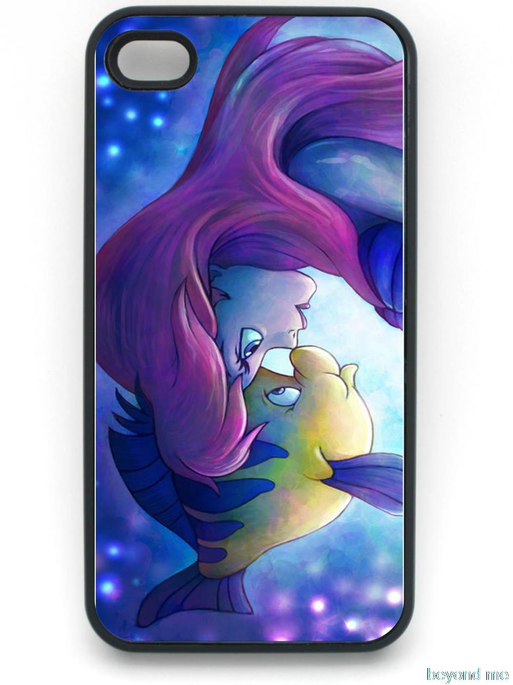 The Little Mermaid Cell phone Case for iPhone 4 5 5s 5c 6 Plus and case for samsung galaxy s2 s3 s4 s5 mini Note 2 3 4 case