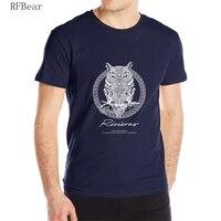 RFBEAR Brand 2017 New T Shirt Man Cotton Short Sleeve Fashion Summer Printing Casual O Neck