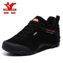 xiangguan 2017 spring men outdoor hiking shoes anti slip sport shoes resistant Sneaker man trekking shoes for men or woman 36-48