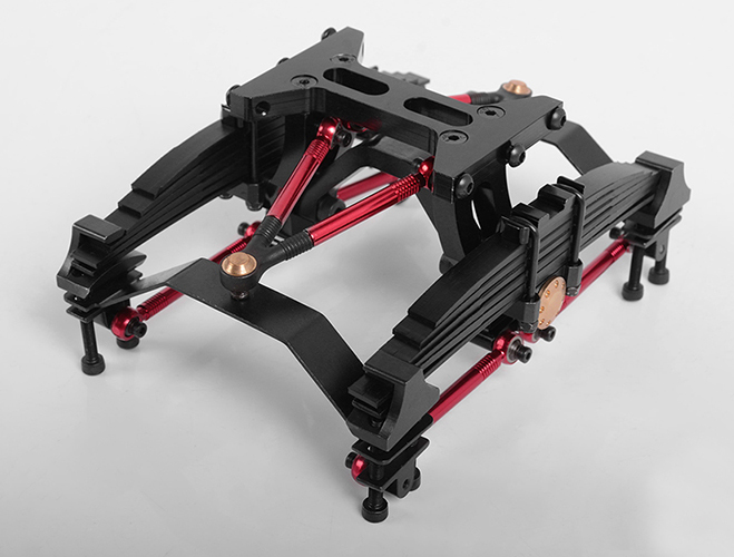 JD-11F 1/14 Truck Transverse Stretching Rear Suspension System jd 57 1 14 truck head latch assembly