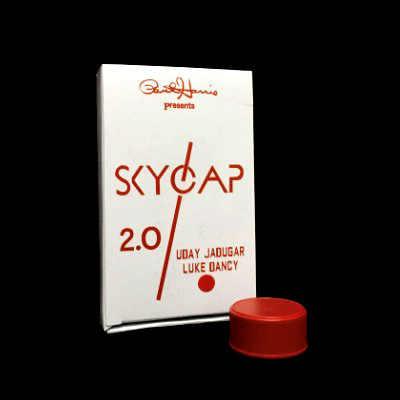 Sky cap 2,0 (красный/желтый/белый доступны) Волшебные трюки бутылка крышка проникновение удивительные Крупным планом Magic Illusion магические трюки реквизит