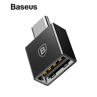 Baseus TYPE C Male to USB Female Cable Adapter Converter For USB C to USB ( Male to Female ) Charger Plug OTG Adapter Converter Phone Adapters & Converters