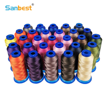 Sanbest High Tenacity Polyester Sewing Thread 150D/3 210D/3 420D/3 Durable for Jeans Canvas Leather Sofa Footwear TH00056