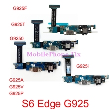 USB Charging Port Flex Cable For Samsung Galaxy S6 Edge G9250 G925F G925A/T/V/P/I Charger Dock Connector Parts