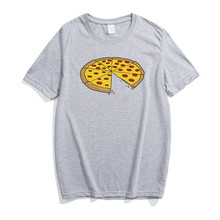 Pizza Printed Father and Kid Matching T-Shirt