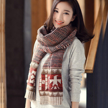 Winter Brand Plaid Desigual Scarf For Women Blanket Poncho Tartan Snood Luxury Shawl Bandana Foulard Scarves MF589621