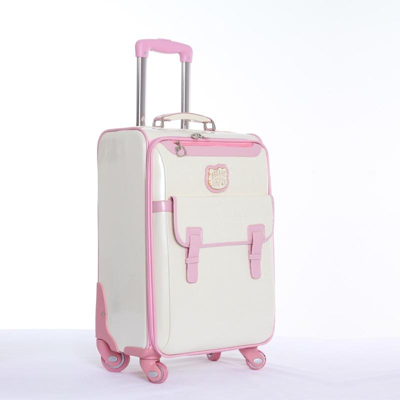 Groothandel! 16 20 24 inch cartoon kt reisbagage tassen op universele - Trolley en reistassen - Foto 2