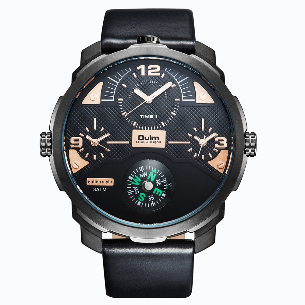 VH Luxury Brand Men Quartz Watches 2017 Double Time Show Relojes Casual Male Sports Watches Clock Hours Horloges Mannen Gift vh luxury brand men quartz watches 2017 double time show relojes casual male sports watches clock hours horloges mannen gift