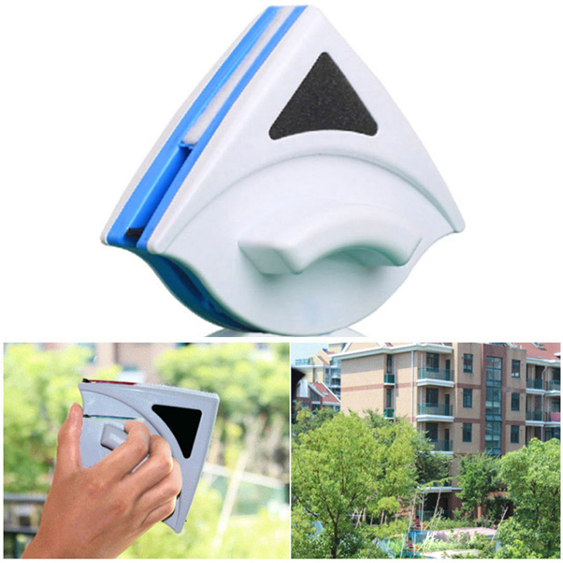 Nieuw Dubbelzijdig magnetisch reinigen van glasborstel Ruitenwisserreiniger Reinigingsproducten voor huishoudelijk gebruik 3-10mm