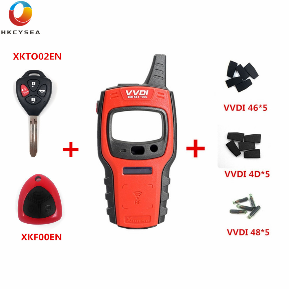 Xhorse VVDI Mini Key Tool Remote Key Chip Copier Support IOS and Android Free 96 bit