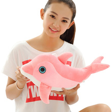 Lovely Stuffed Dolphin Toy dolphins doll stuffed toys for baby girls / Birthday /Children's day Free shipping