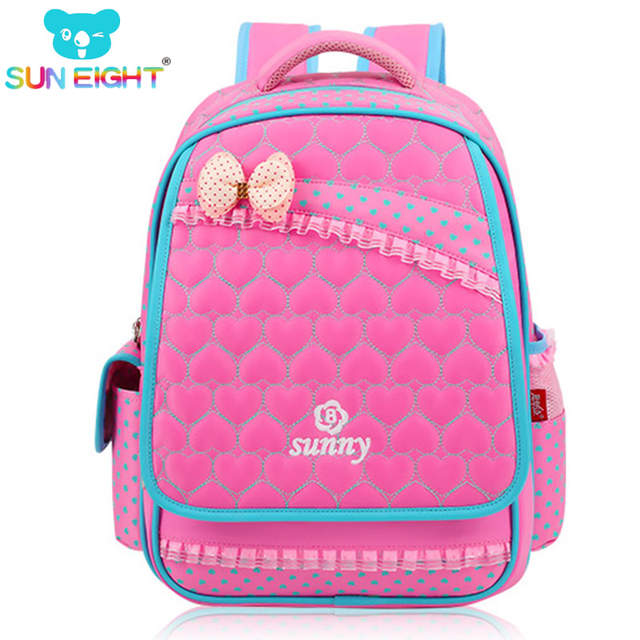 9d52a0d3fb86 Online Shop New Lace Sweet Girl s School Bags Fashion Lovely Kid Backpack  School Backpack For Baby Girl Primary Backpacks Back Pack