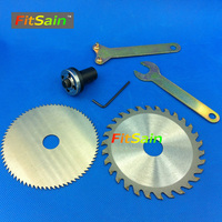 VANGEL 4 Saw Blades For Wood Plastic Cutting Discs Applicable To Motor Shaft Diameter 5mm 6mm