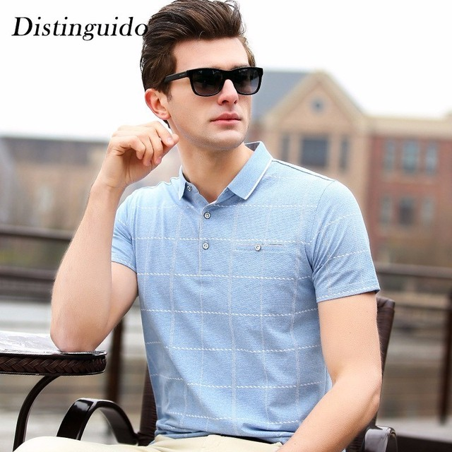 ede84b0693bb New Arrival Spring Summer Smart Casual Business Man Daily Wear Short  Sleeves Solid Color Engagement Meeting T-Shirt MST249